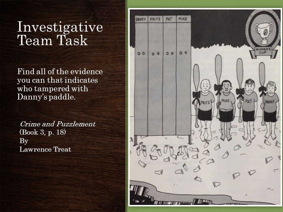 Investigative Team Task