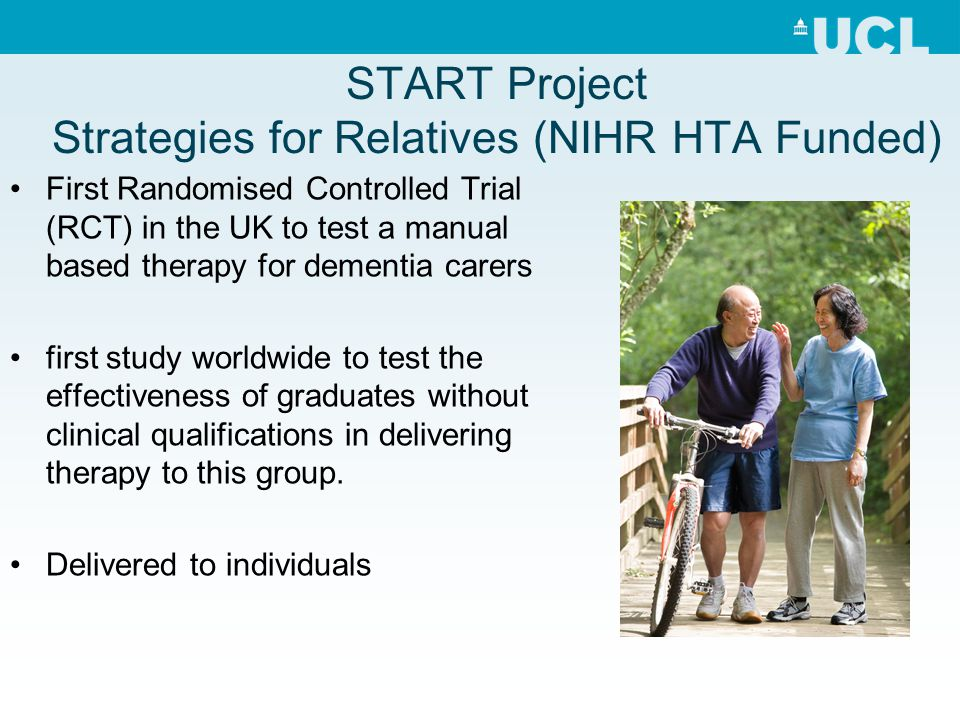 START Project Strategies for Relatives (NIHR HTA Funded)