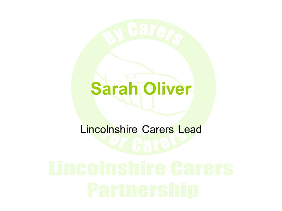 Lincolnshire Carers Lead