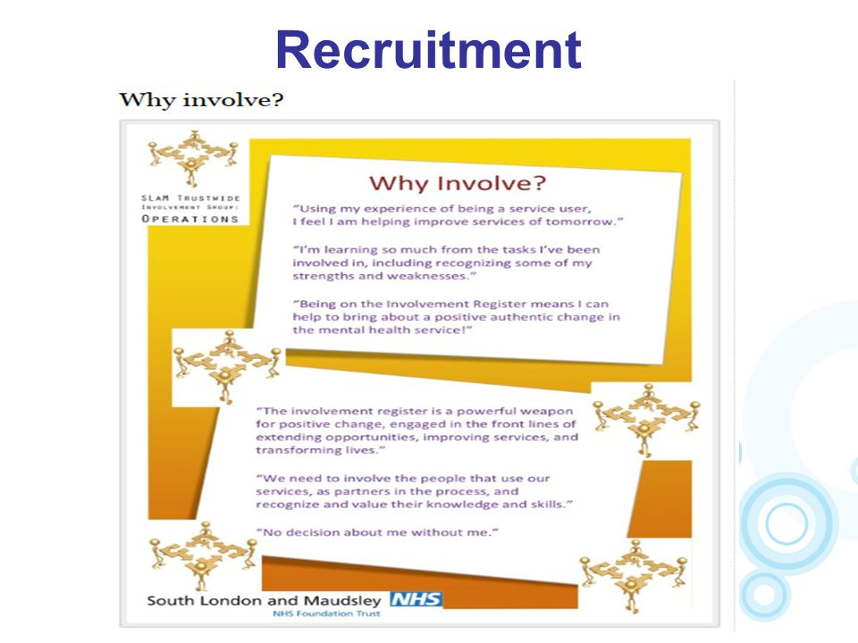 Recruitment How we went about recruiting SU co-facilitators