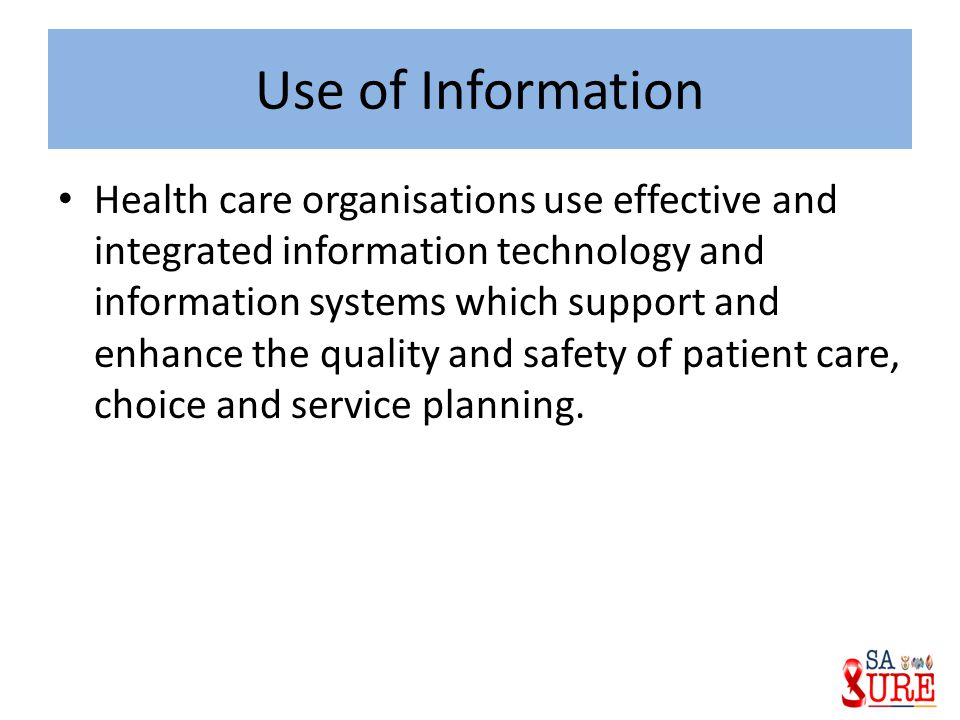 how organisations use information The health information technology for economic and clinical health (hitech) act significantly changes how organizations will address the access, use, and disclosure of protected health information (phi) it also establishes a national breach notification requirement when information is accessed in.