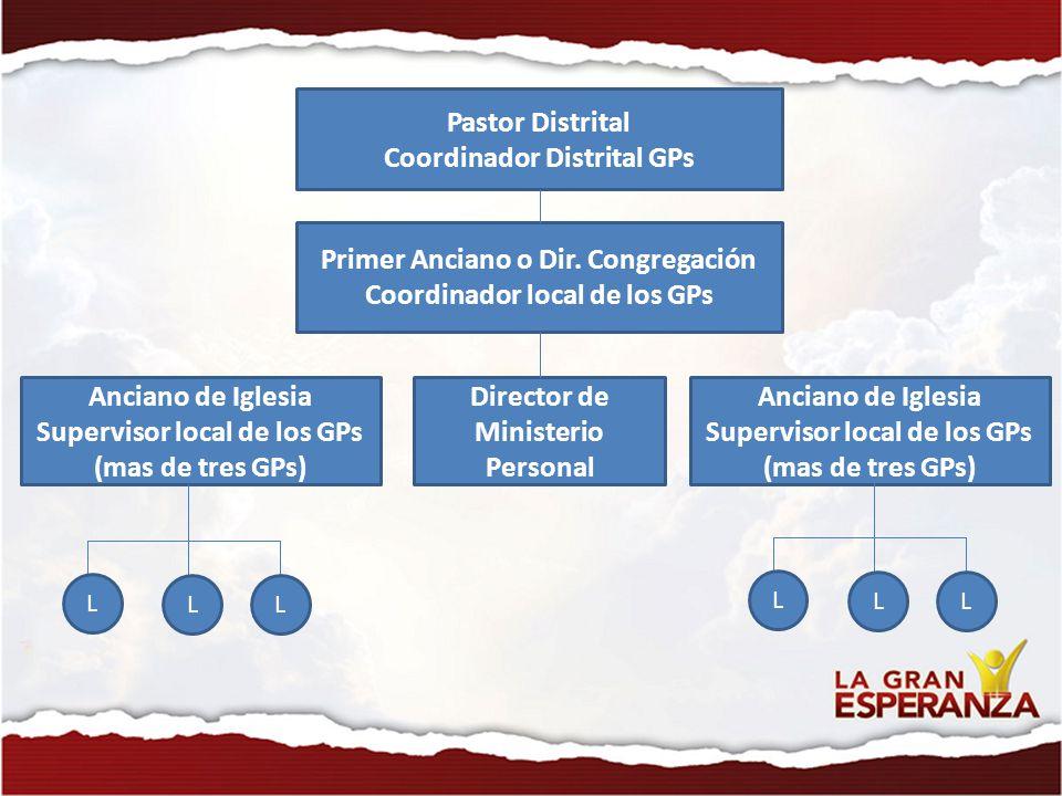 Coordinador Distrital GPs