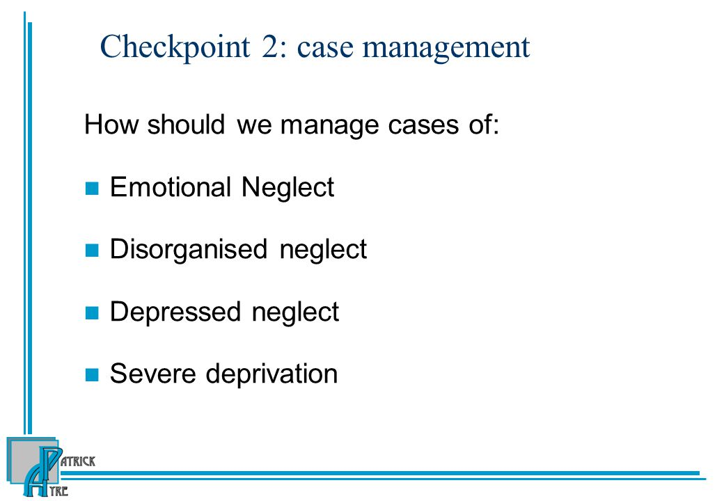 Checkpoint 2: case management