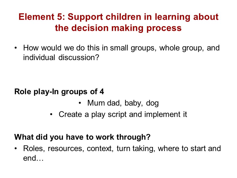 Create a play script and implement it