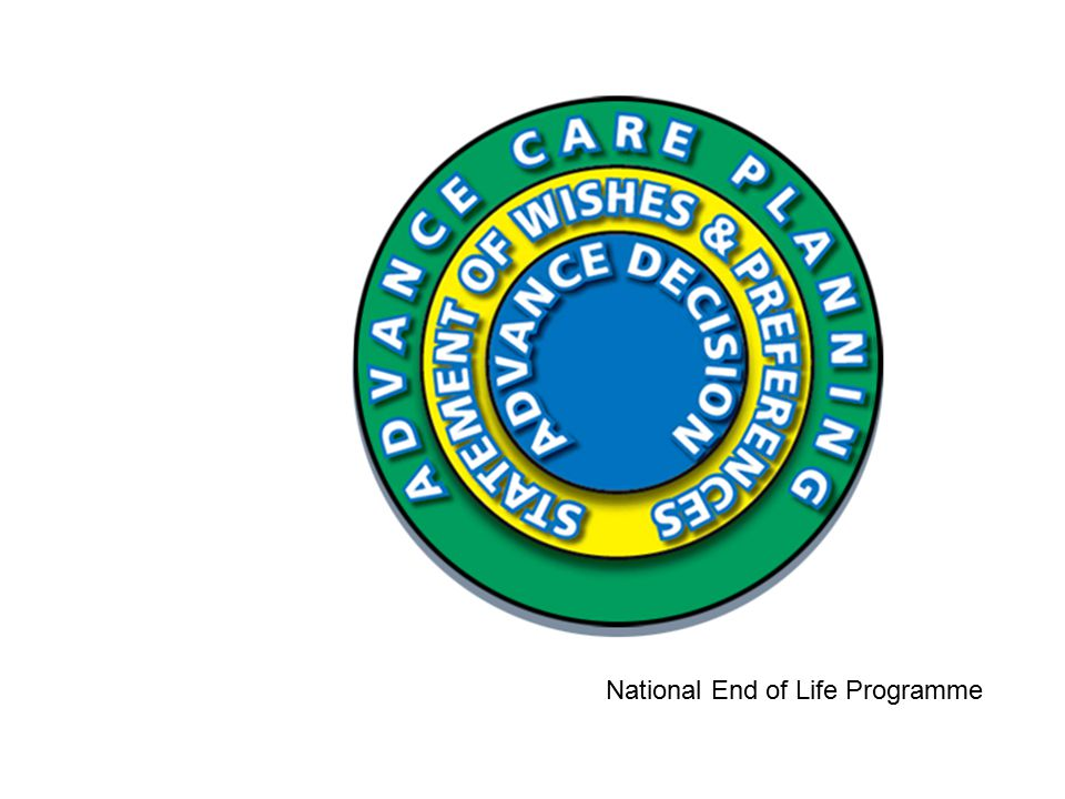 National End of Life Programme