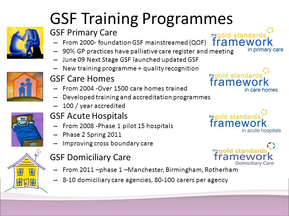 GSF Training Programmes