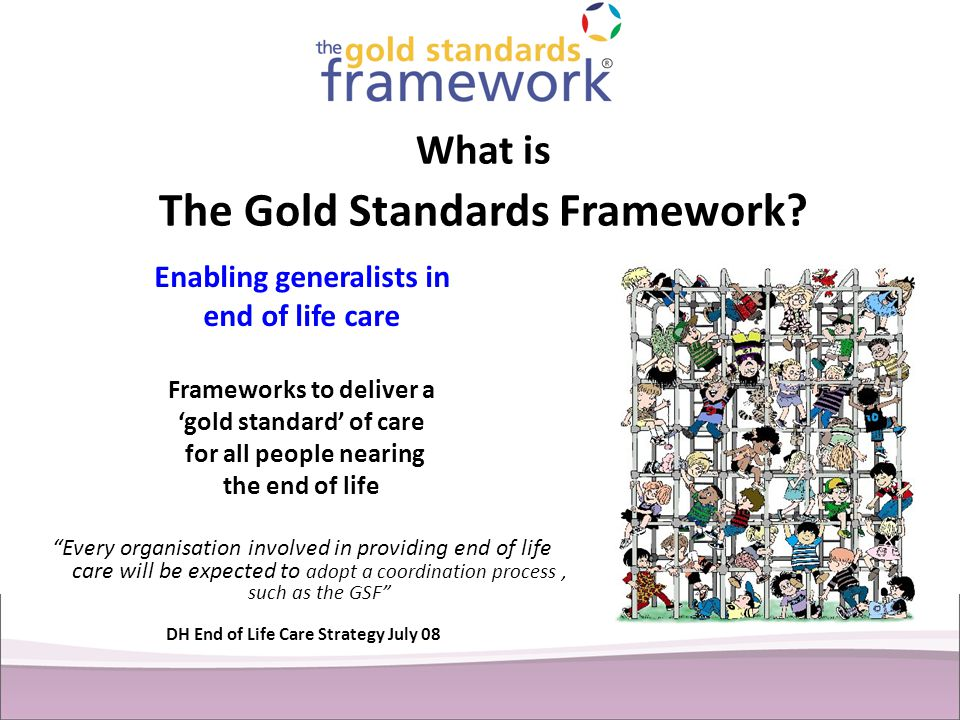 What is The Gold Standards Framework