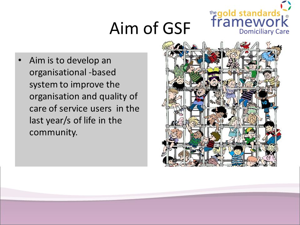 Aim of GSF