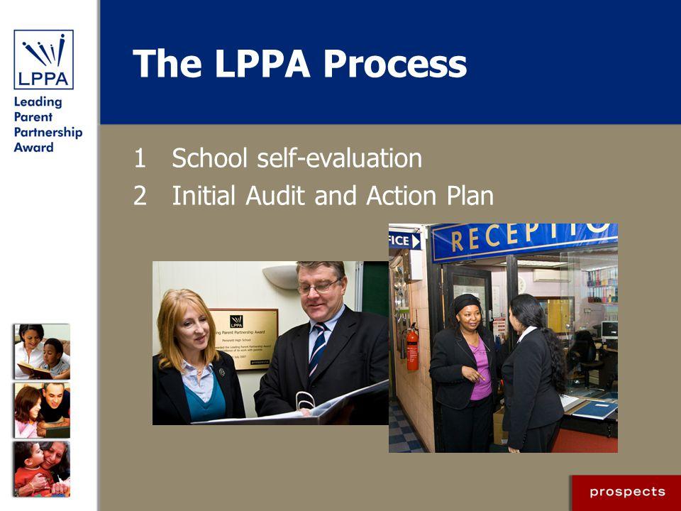 The LPPA Process 1 School self-evaluation