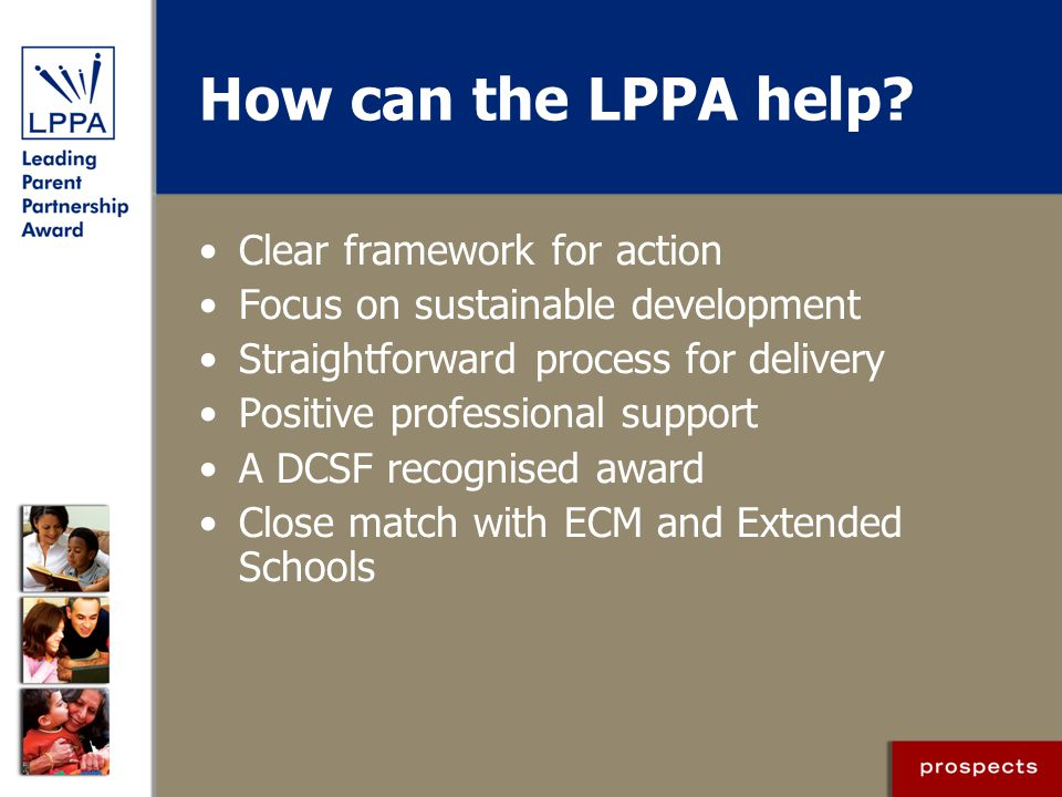 How can the LPPA help Clear framework for action