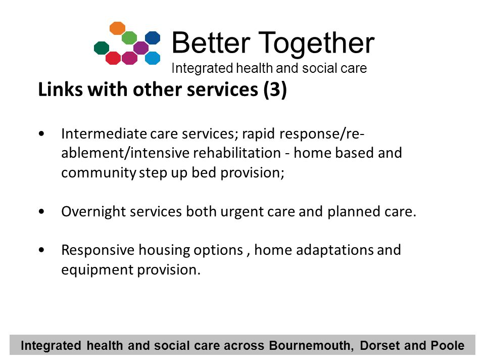 Links with other services (3)