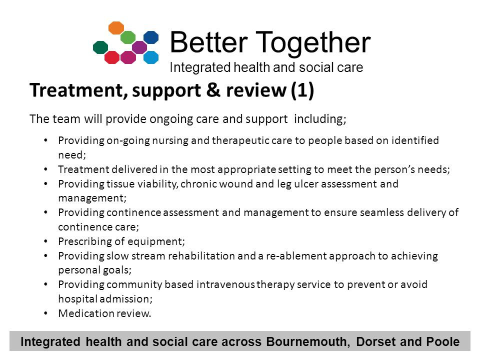 Treatment, support & review (1)