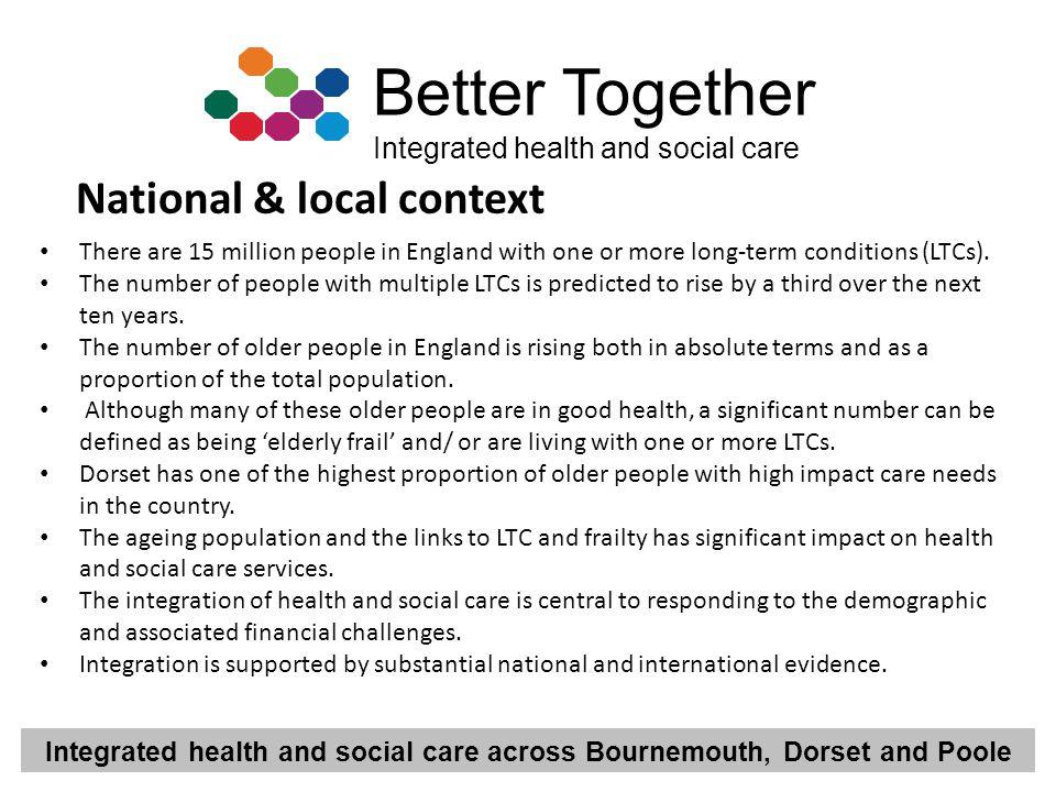 National & local context