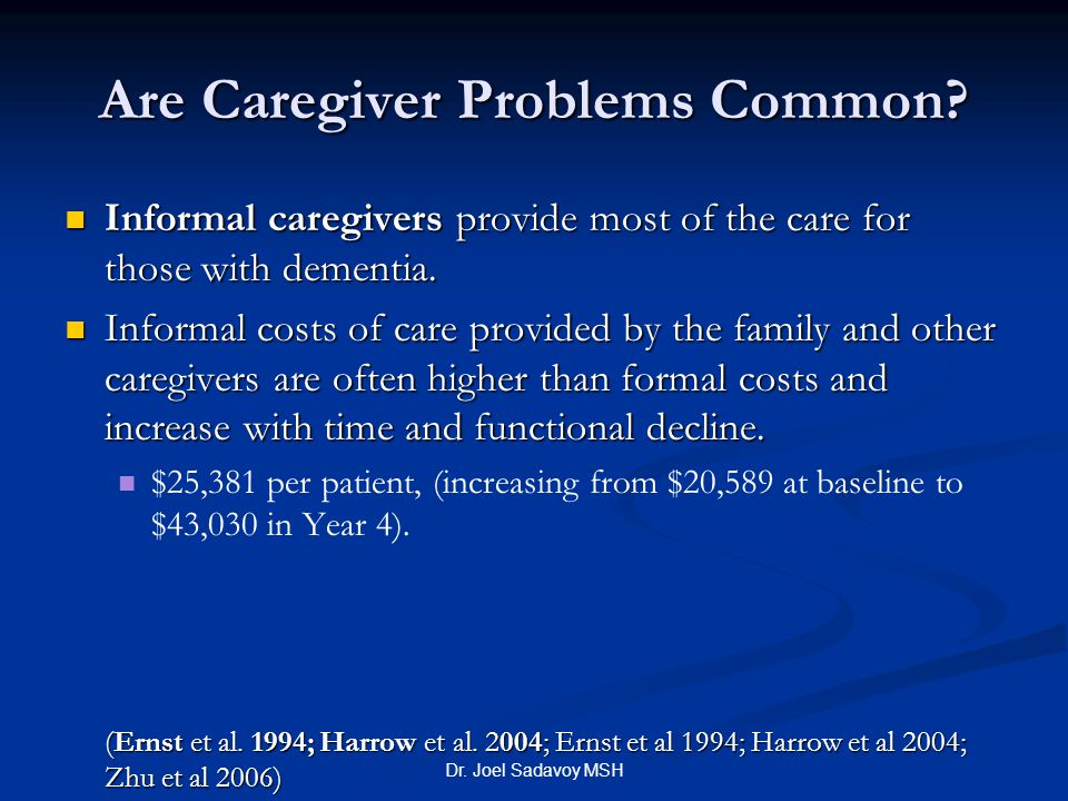 Are Caregiver Problems Common