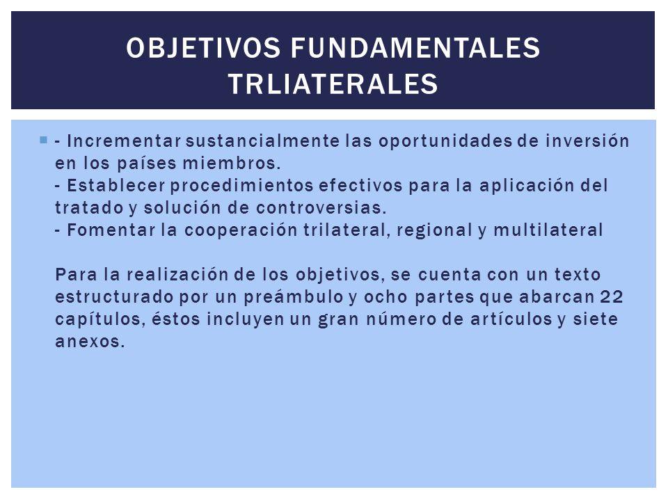 Objetivos Fundamentales Trliaterales