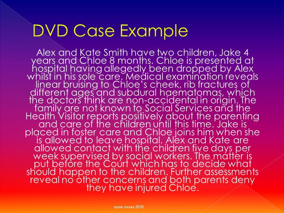 DVD Case Example