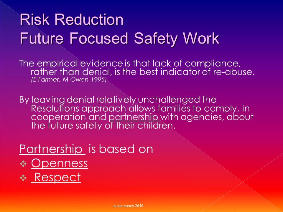 Future Focused Safety Work