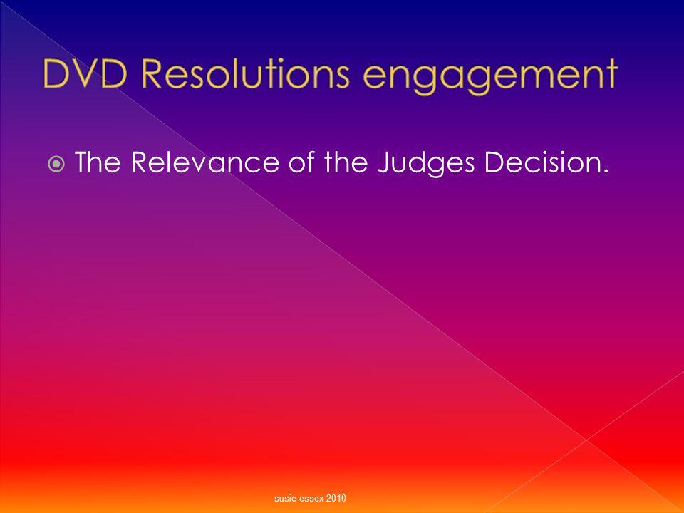 DVD Resolutions engagement