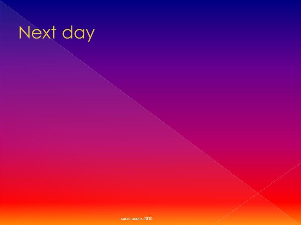 Next day susie essex 2010