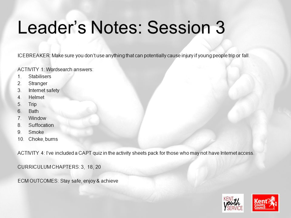 Leader's Notes: Session 3