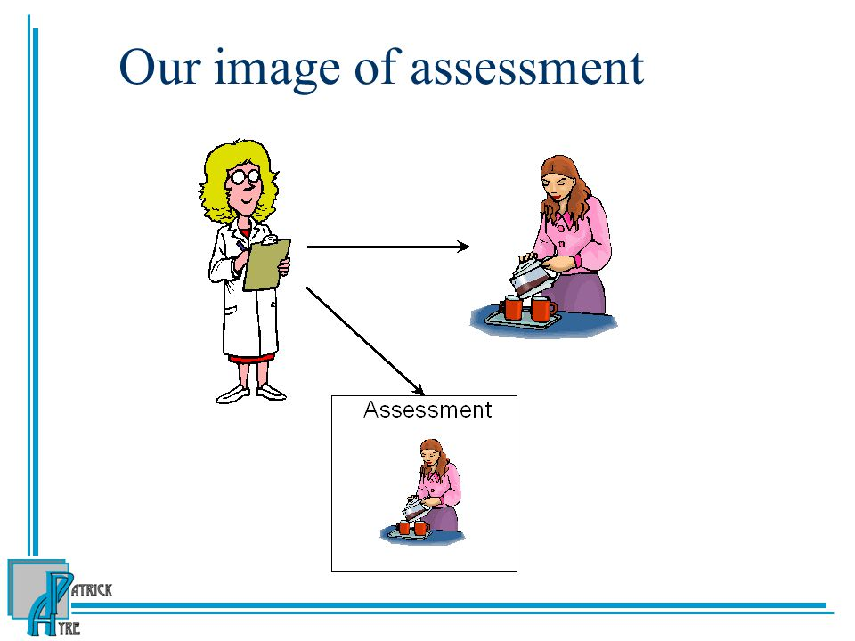 Our image of assessment