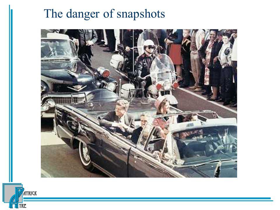 The danger of snapshots