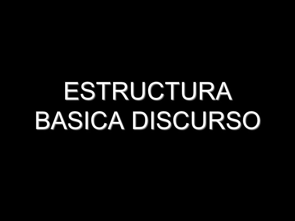 ESTRUCTURA BASICA DISCURSO