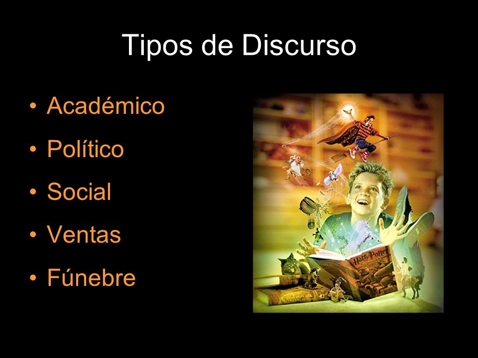 Tipos de Discurso Académico Político Social Ventas Fúnebre