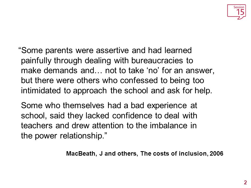 MacBeath, J and others, The costs of inclusion, 2006