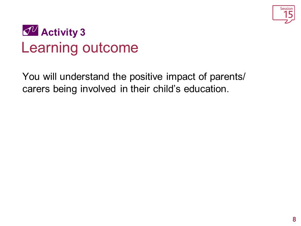 Learning outcome Activity 3