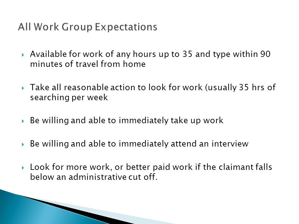 All Work Group Expectations