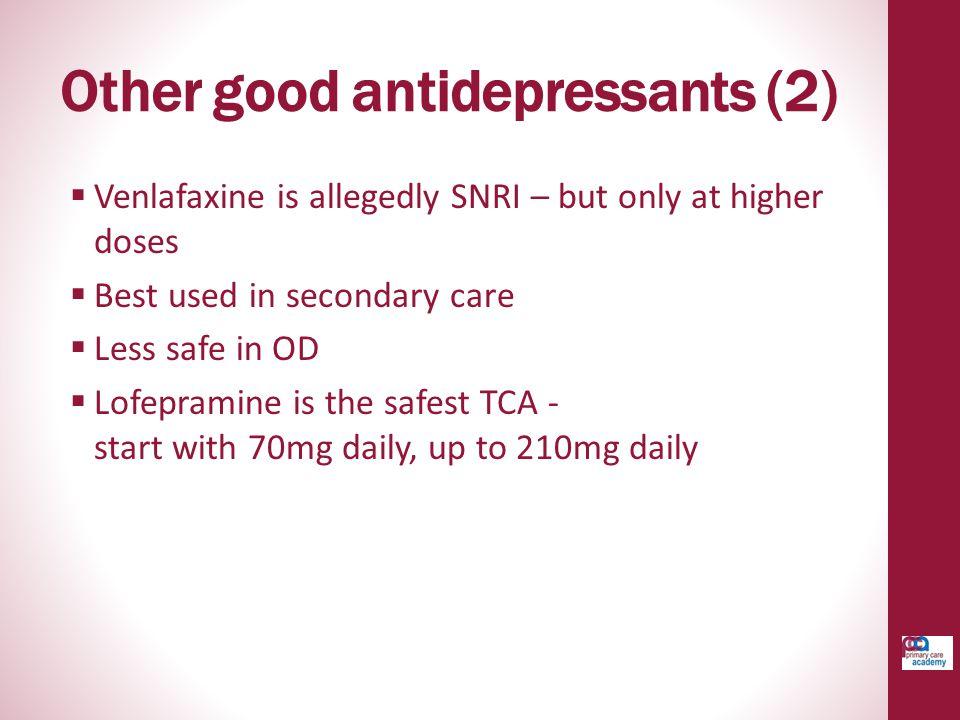 Other good antidepressants (2)