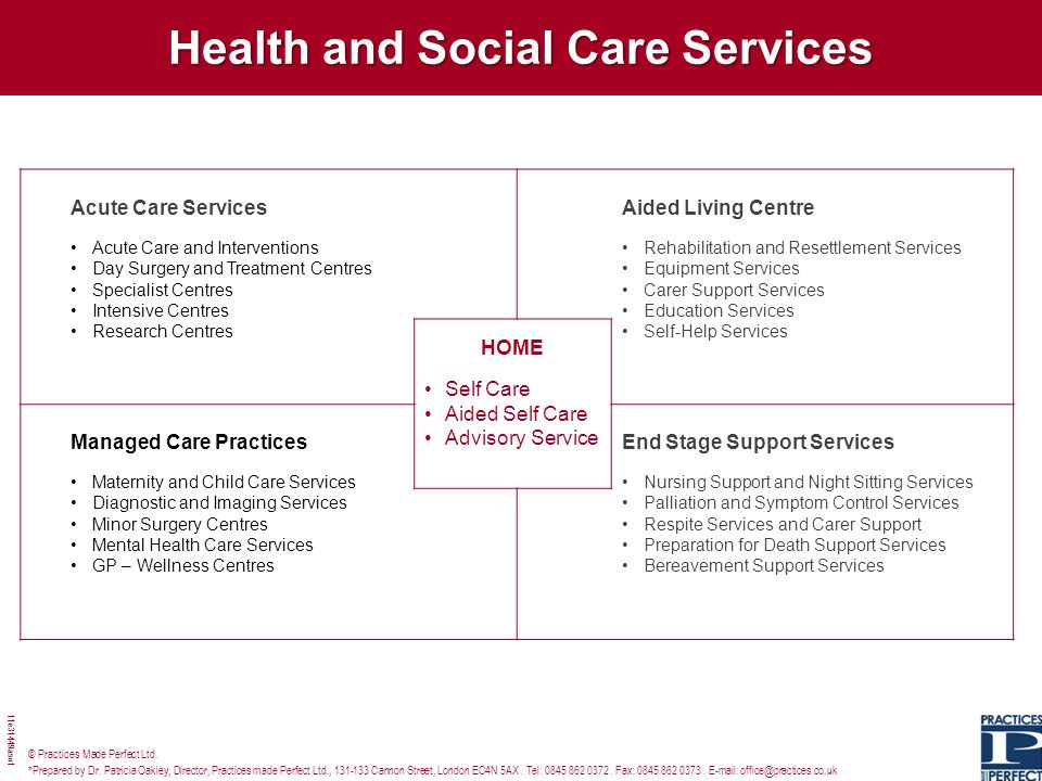 Health and Social Care Services