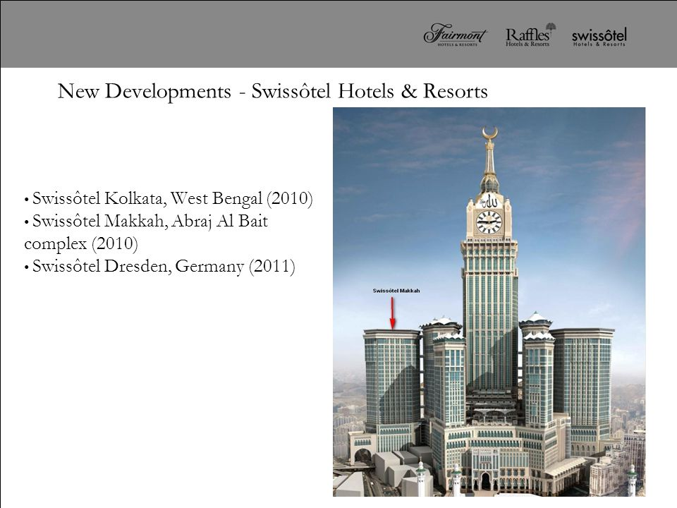 New Developments - Swissôtel Hotels & Resorts