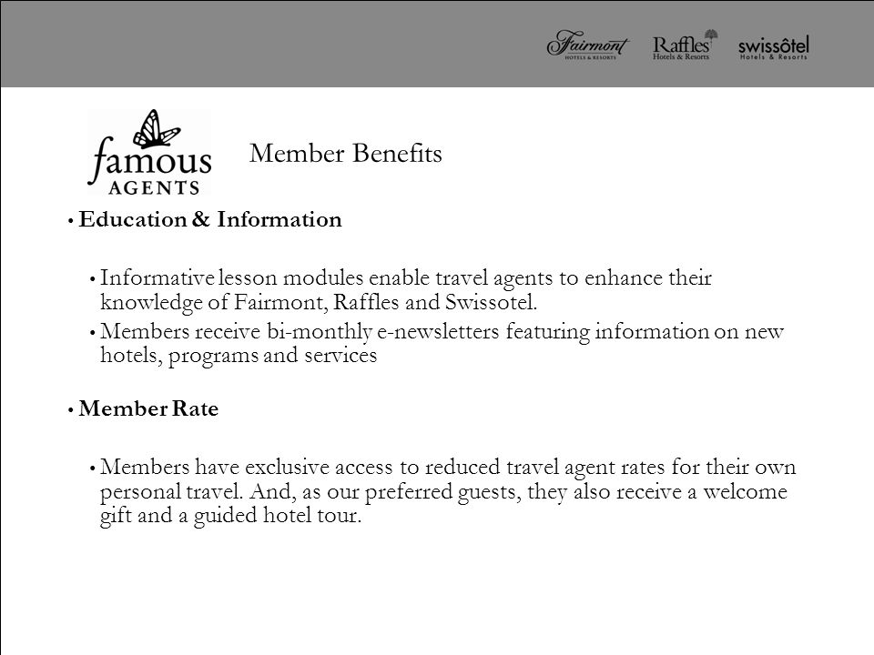 Member Benefits Education & Information