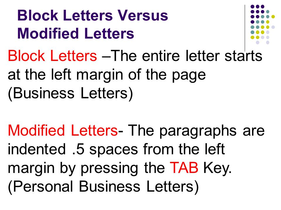 Business Letters A How To