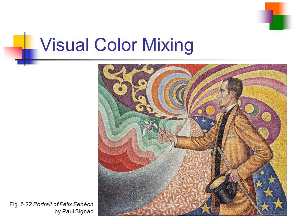 Visual Color Mixing Fig. 5.22 Portrait of Félix Fénéon by Paul Signac