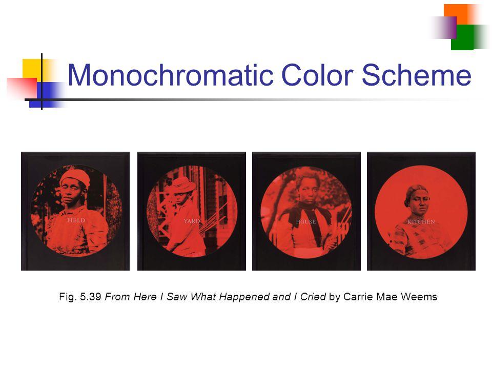 Monochromatic Color Scheme
