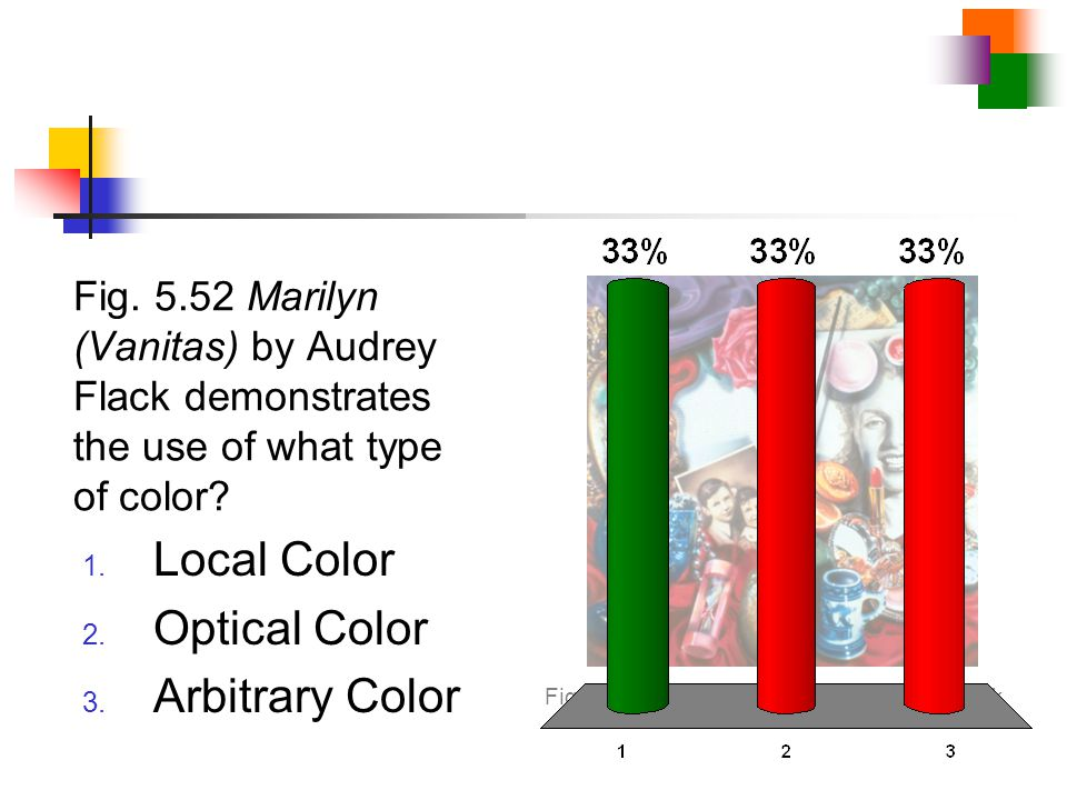 Local Color Optical Color Arbitrary Color