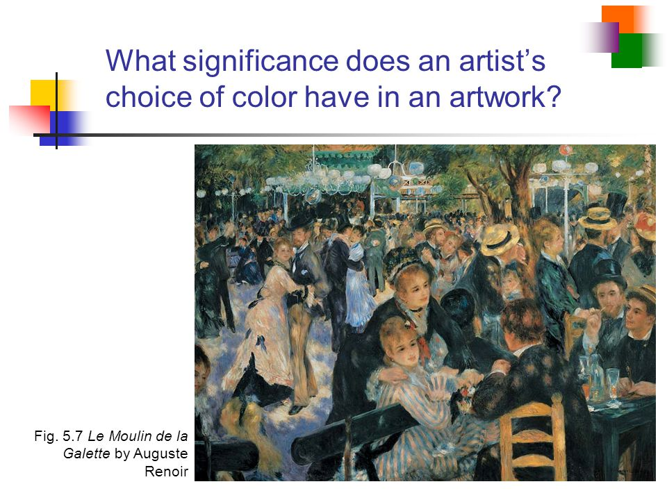 What significance does an artist's choice of color have in an artwork
