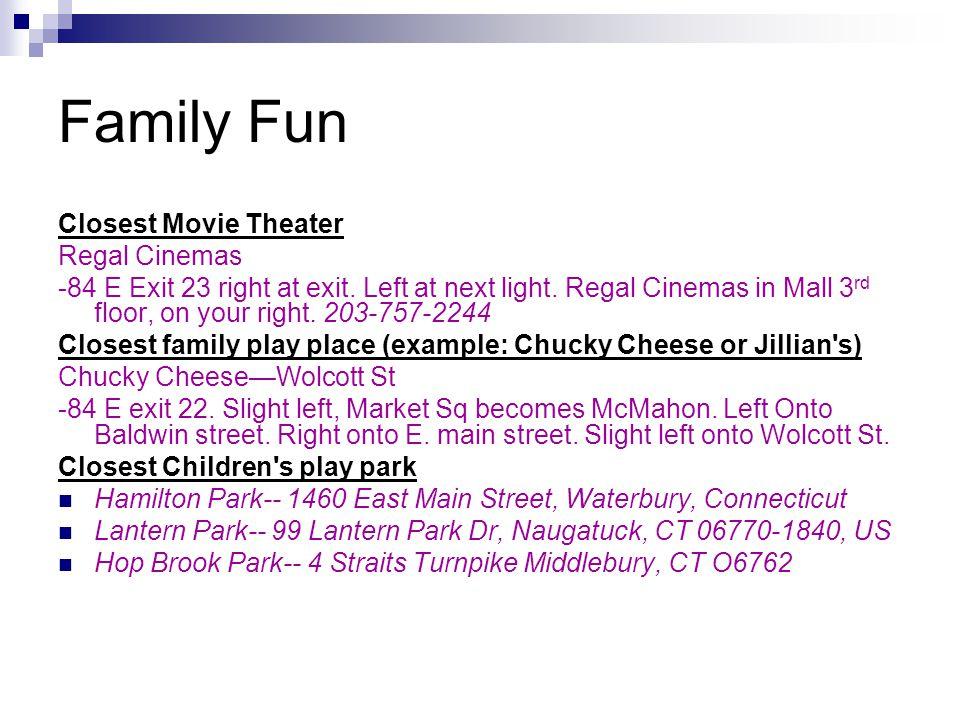Family Fun Closest Movie Theater Regal Cinemas