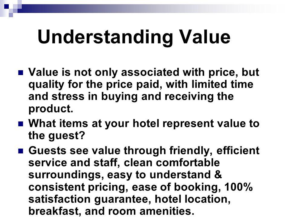 Understanding Value