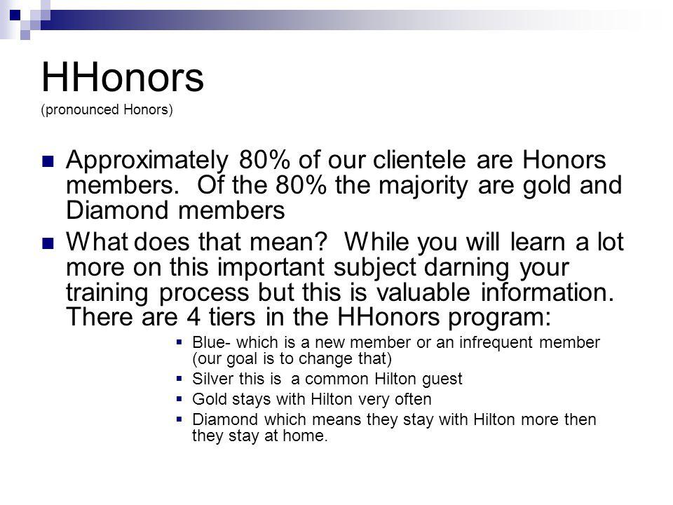 HHonors (pronounced Honors)