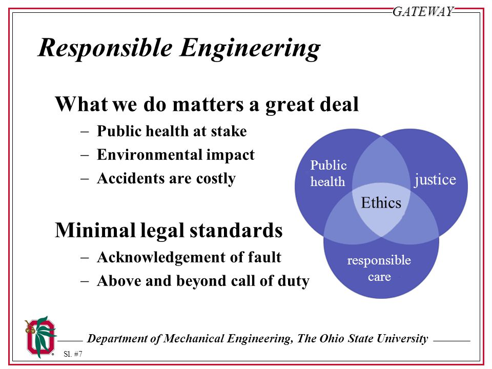 Responsible Engineering