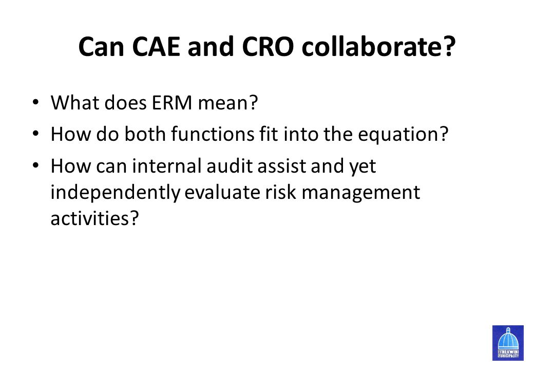 Can CAE and CRO collaborate