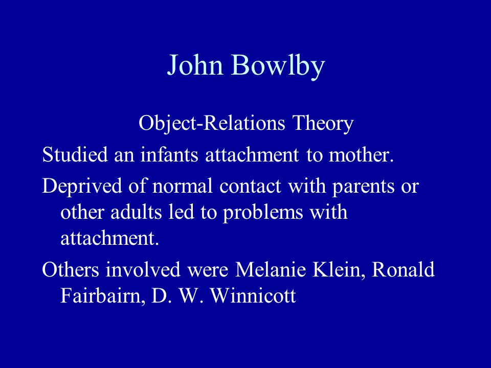 Object-Relations Theory