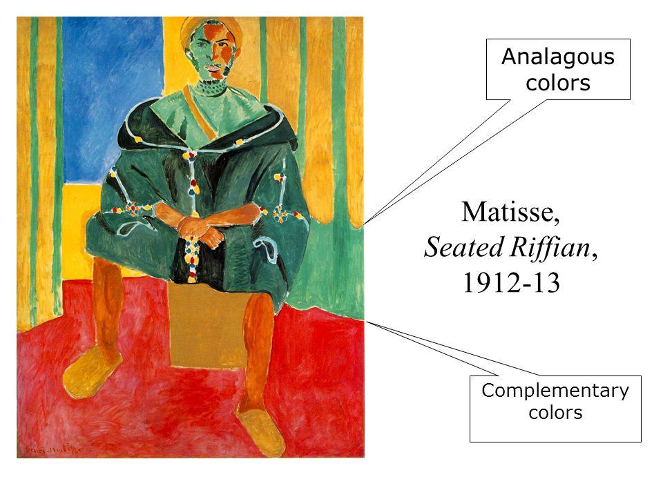 Matisse, Seated Riffian, 1912-13