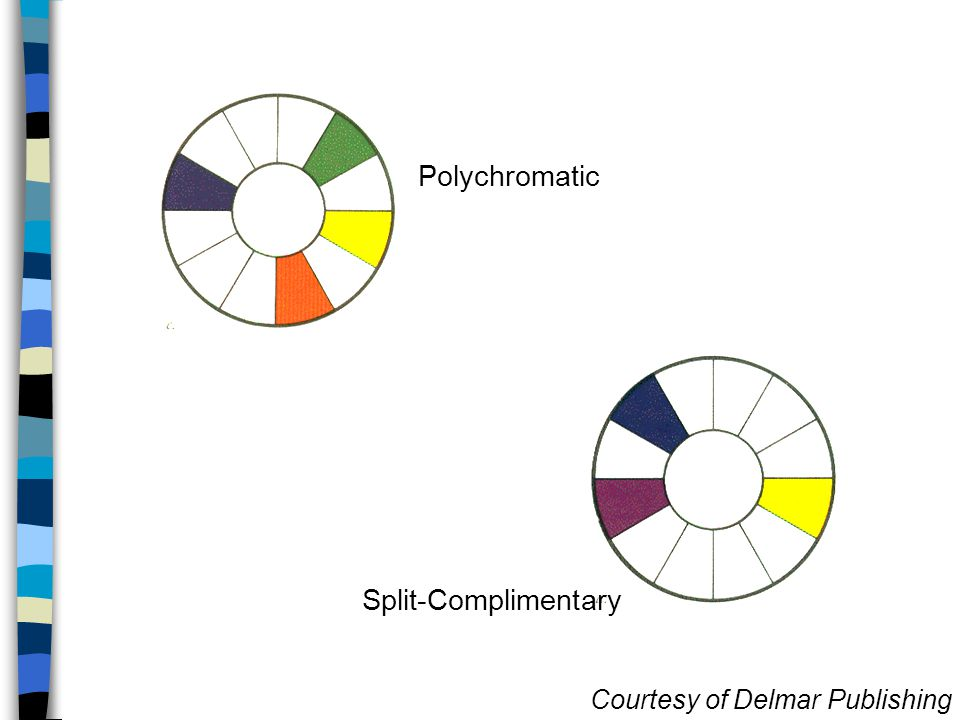 Polychromatic Split-Complimentary Courtesy of Delmar Publishing