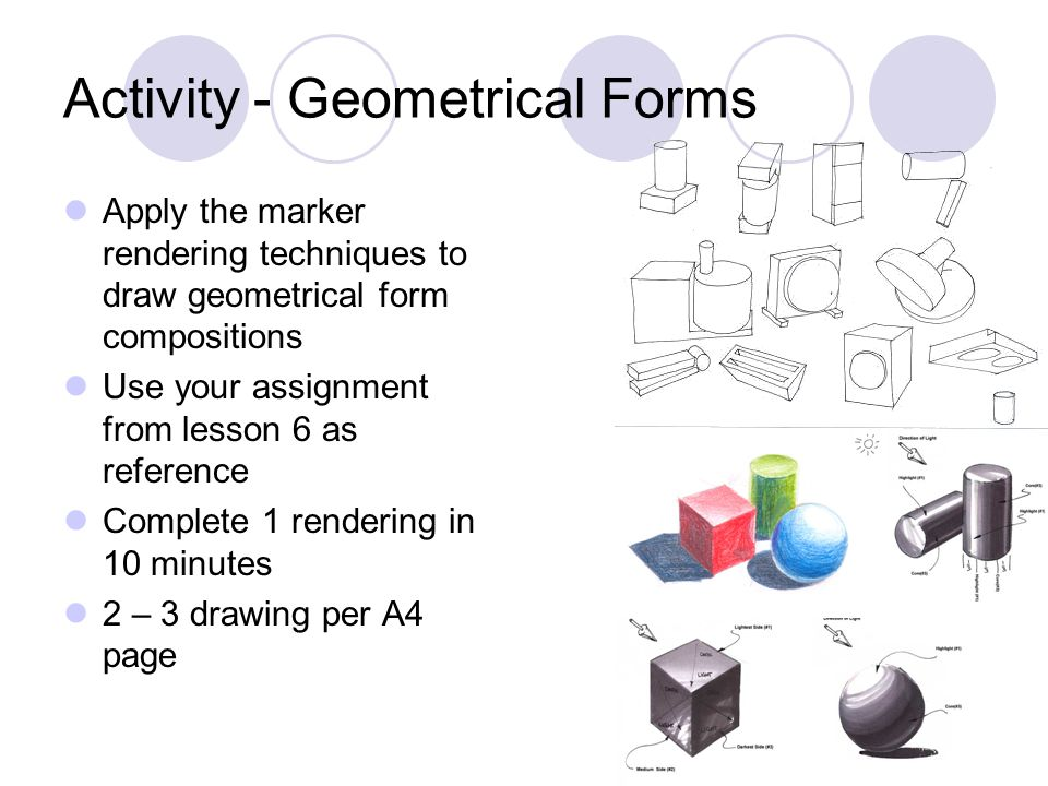 Activity - Geometrical Forms