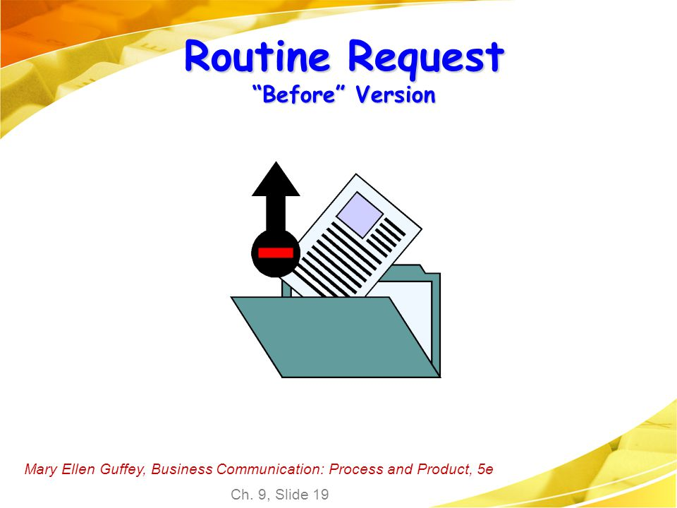 Routine Request Before Version